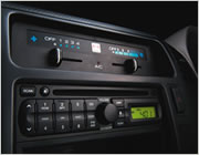 Hino Series 3 has radio/CD player