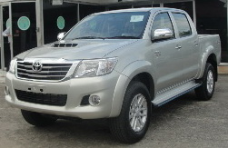 2012 Toyota Vigo Hilux Champ in Silver Metallic